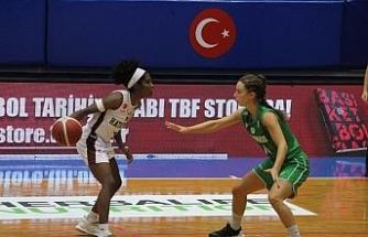 FIBA Kadınlar Avrupa Kupası: Hatayspor: 87 - Panathinaikos: 56