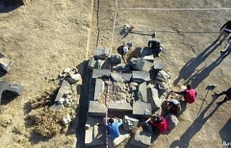 Kef Kalesi'nde 45 yıl sonra ilk kazı çalışması yapıldı