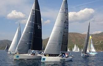 Marmaris Uluslararası Yelken yarışlarının ilk günü tamamlandı