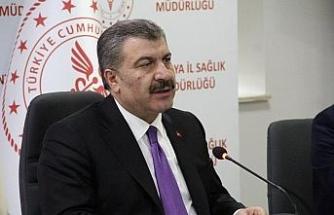 """Sağlık Bakanı Koca: """"Adana mavi kategorisine geçti"""""""