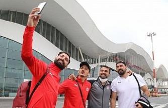 Sivasspor kafilesi İzmir'e ulaştı