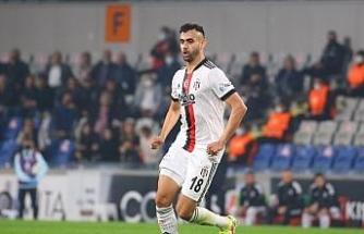 Süper Lig: Medipol Başakşehir: 1 - Beşiktaş: 0 (İlk yarı)