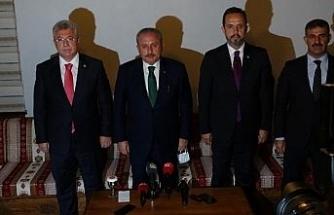 """TBMM Başkanı Şentop: """"Güvensizlik ortamı oluşturmak, Türkiye'de terör örgütlerinin arzu ettiği bir iştir"""""""