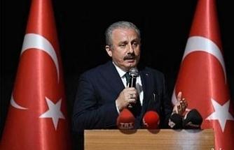 """TBMM Başkanı Şentop'tan """"29 Ekim Cumhuriyet Bayramı"""" mesajı"""