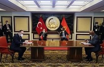 Türkiye-Angola arasında 7 anlaşma imzalandı