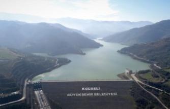 Kuruma tehlikesi yaşayan barajın su seviyesi yüzde 86'ya çıktı