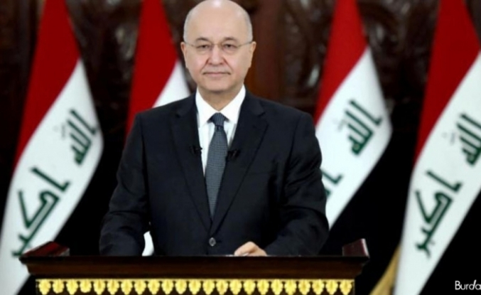 """Irak Cumhurbaşkanı Salih: """"Hristiyanlar ülkeyi terk etmek zorunda kaldı"""""""