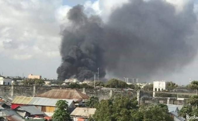 Somali'nin başkenti Mogadişu'da liman bölgesinde patlama