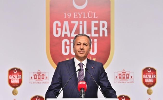 İstanbul Valisi Yerlikaya, gaziler ile bir araya geldi