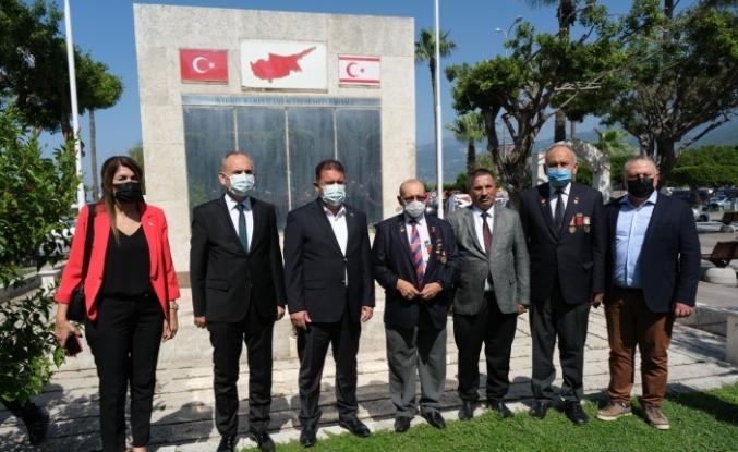 Kuzey Kıbrıs Türk Cumhuriyeti Başbakanı Ersan Saner, Hatay'da