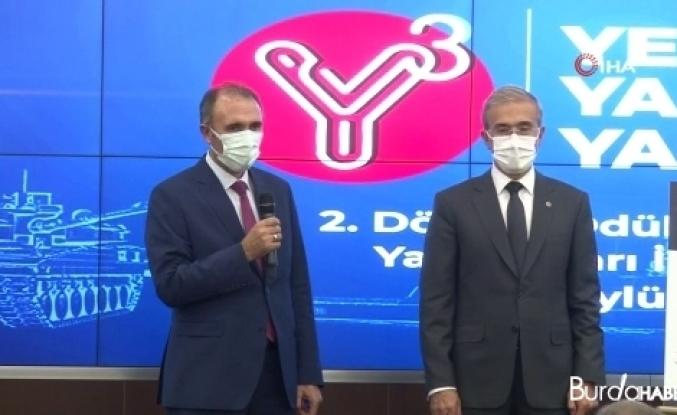 """Savunma Sanayii Başkanı Demir: """"47 Ar-Ge projesini başarıyla tamamladık, 62 proje devam ediyor"""""""