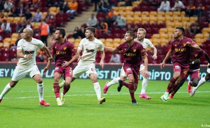 Süper Lig: Galatasaray: 0 - Göztepe: 1 (İlk yarı)