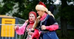 Rusya'da Tatarlar ve Başkurtlar Sabantuy'u kutladı
