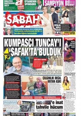 SABAH - 27.09.2016 Manşeti