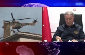Akar ve komutanlar İran sınırını inceledi