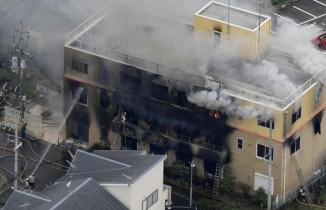 Animasyon stüdyosunda yangın: 1 ölü, 35 yaralı