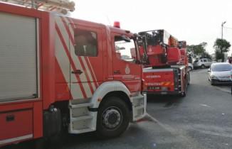 Ataşehir'de alışveriş merkezinde yangın paniği