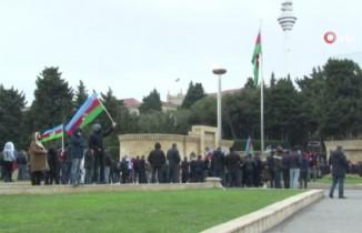 Azerbaycan'da halk Laçın'ın işgalden kurtarılmasını kutluyor