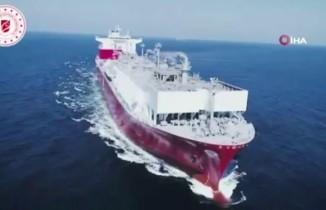 Bakan Dönmez açıkladı: İlk doğalgaz depolama ve sıvılaştırma gemisi Türkiye'de