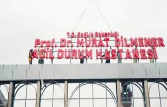 Bakan Koca'dan Prof. Dr. Feriha Öz Acil Durum Hastanesi paylaşımı