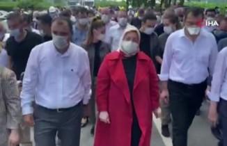 """Bakan Zehra Zümrüt Selçuk: """"Önceliğimiz çalışanların sağlığı"""""""