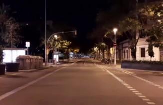 Barselona sessiz kente döndü