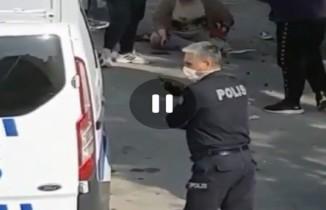Başkent'te eski eşe sokak ortasında bıçaklı saldırı