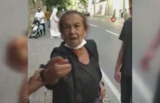 Beşiktaş'ta yolda yürüyen başörtülü kadınlara hakaret