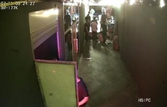 Beyoğlu'nda gece kulübünde yaşanan dehşetin güvenlik kamera görüntüleri ortaya çıktı