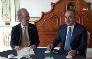 Çavuşoğlu, BM Suriye ve Libya Özel Temsilcileri ile görüştü
