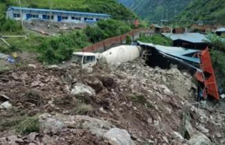 Çin'de heyelan: 17 kişi kayıp