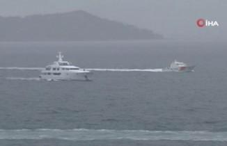 Cumhurbaşkanı Erdoğan ile MHP Genel Başkanı  Bahçeli Demokrasi ve Özgürlükler Adası'nda