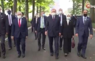 Cumhurbaşkanı Erdoğan, New York'ta Göbeklitepe Anıtı'nı gezdi
