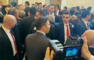 Cumhurbaşkanı Erdoğan'a korona virüsüne karşı termal kameralı takip