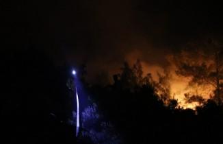 Ekipler canla başla yangına müdahale ediyor