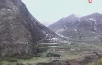 Ermenistan'ın işgalinden kurtarılan Hüsülü ve Malıbey köyleri görüntülendi