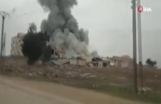 Esad rejiminden İdlib'e hava saldırısı: 2 ölü