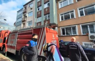 Fatih'te korkutan yangın: Vatandaşlar büyük panik yaşadı