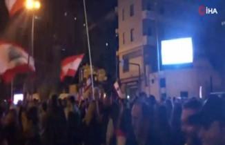 Hariri'ye yakınlığı ile bilinen başbakan adayı Hatib protesto edildi