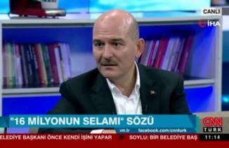 """İçişleri Bakanı Soylu: """"İstanbul ve Ankara için kayyum söz konusu değil"""""""
