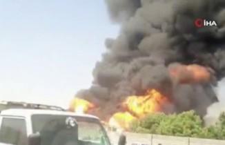 İran'da yakıt tankerlerinde büyük yangın