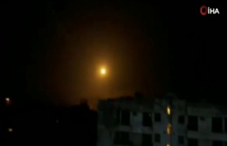 İsrail, Esad ve İran destekli milisleri vurdu