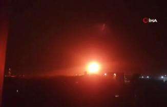 İsrail Gazze'yı vurdu