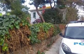İstanbul'da ölü bulunan İngiliz ajanının Büyükada'daki evi görüntülendi