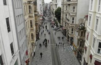 İstiklal Caddesi'nde yeni normale dönüş başladı