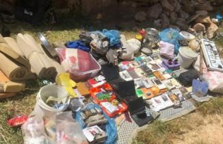 Jandarma ve emniyet birimlerinden terör örgütü PKK'ya ağır darbe