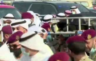 Kuveyt Emiri Sabah el-Ahmed el-Cabir es-Sabah'ın naaşı Kuveyt'e getirildi