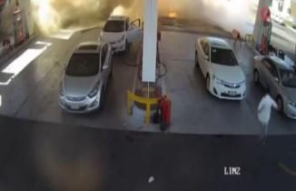 Medine'de benzin istasyonunda patlama
