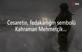 MSB'den Mehmetçik için 'kış' paylaşımı