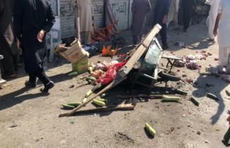 Pakistan'da pazar yerinde patlama: 20 yaralı